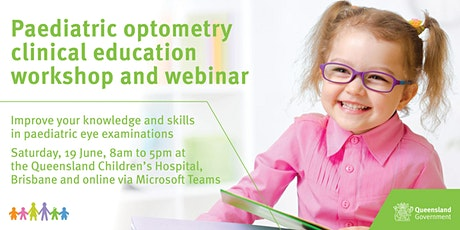 Paediatric Optometry Clinical Education Workshop and Webinar tickets