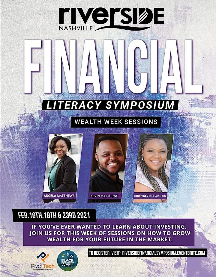 Riverside's Next Steps Ministry Presents: Wealth Week! image