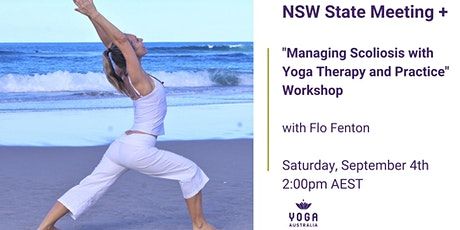 """NSW State Meeting + """"Managing Scoliosis with Yoga Therapy and Practice"""" tickets"""