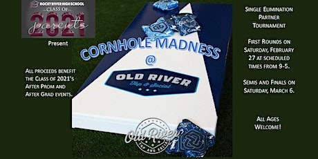 Cornhole Madness @ Old River Tap and Social tickets
