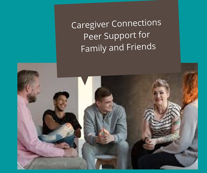 Caregiver Connections Peer Support Group image