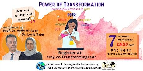 Transforming Fear. tickets