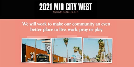 Mid City West Progressive Slate 'Meet the Candidates' Virtual Event Series tickets