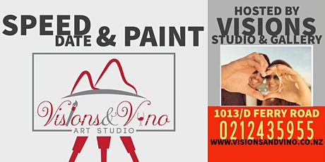 Speed Date and Paint - Visions Art Studio tickets