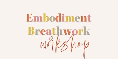 Embodiment Breathwork Workshop tickets