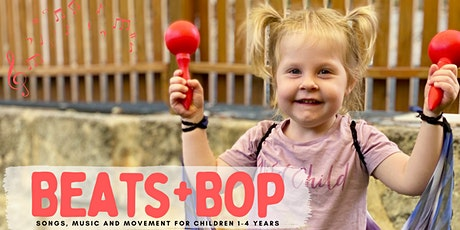 Beats + Bop: songs, music and movement for children 1-4 years tickets