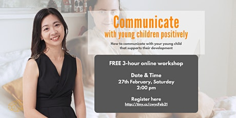 (Parenting Workshop) Communicate with Young Children tickets
