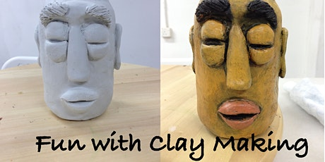 Fun with Clay Making Workshop (2 sessions) Mar 15 & 22 tickets