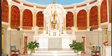 Saturday Evening Mass –  March  13th, 2021 - 6:30pm tickets