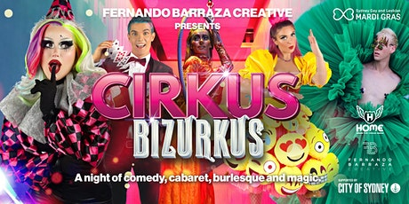 Cirkus Bizurkus - In Bed @ Home tickets