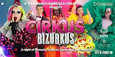 Cirkus Bizurkus - In Bed @ Home tickets