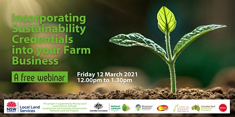 Incorporating Sustainability Credentials into your Farm Business tickets
