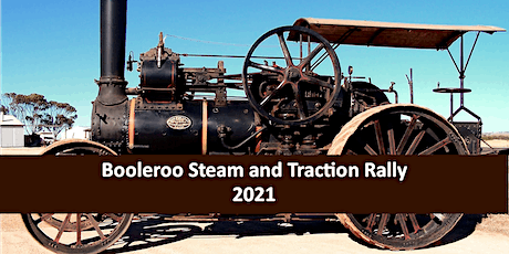 Booleroo Centre Steam and Traction Rally 2021 tickets