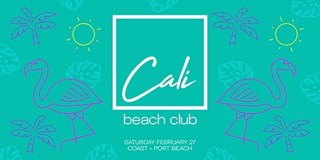 Cali Beach Club Vol. 3 tickets