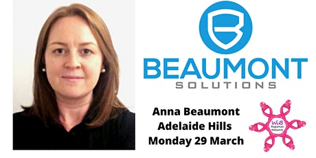 Adelaide Hills Dinner - Women in Business Regional Network -  Mon 29/3/2021 tickets