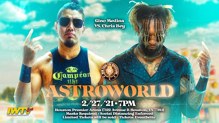 """New Texas Pro Wrestling Presents: """"ASTROWORLD"""" image"""