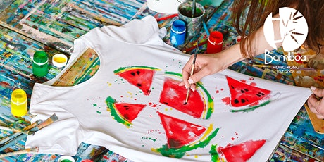 """Paint your bamboo t-shirt"" WORKSHOP tickets"