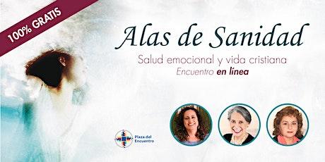 Alas de Sanidad: Encuentro en línea de salud emocional y vida cristiana entradas
