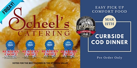 Scheel's Catering Curbside Fish Dinner tickets