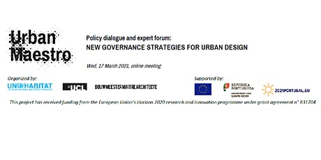 Policy Dialogue and Forum on New Governance Strategies for Urban Design tickets