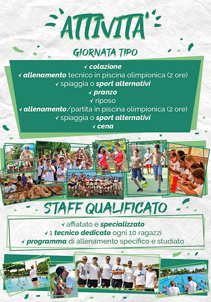 Immagine SUMMER CAMP 2021 - Pallanuoto