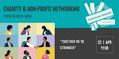 Charity & Non-Profit Networking - Focus on Social Media tickets