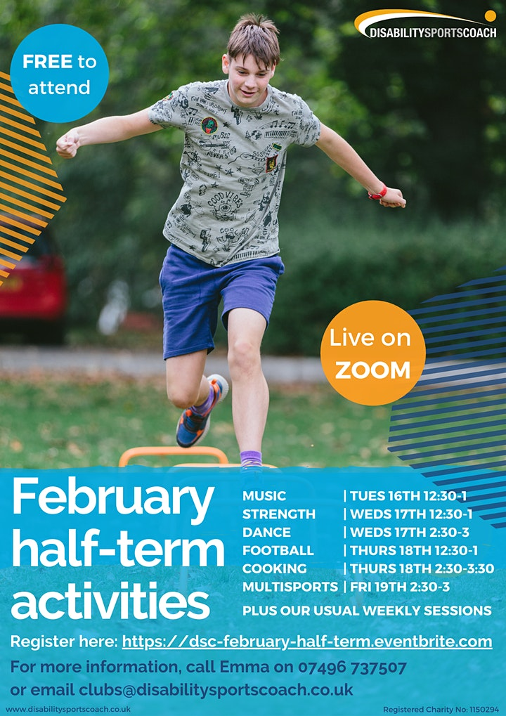 February half-term activities image
