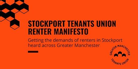 Renter Manifesto Development — Stockport tickets