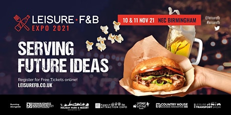 Leisure F&B Expo tickets