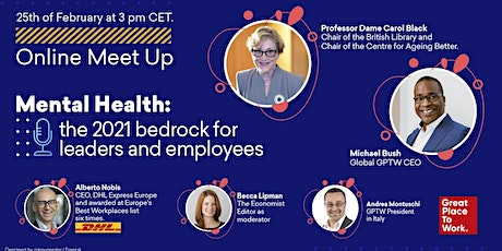 Mental Health: The 2021 Bedrock for Leaders and Employees Success tickets