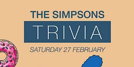 Simpsons Trivia - Mounties tickets