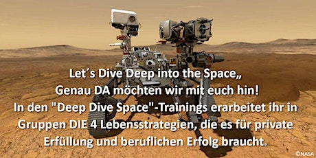 "Deep Dive Space - ""Astronautin for one Day"" mit Laura Bechthold Tickets"