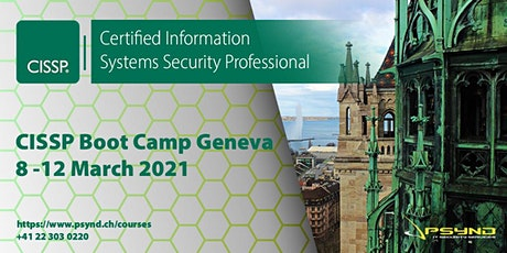 CISSP Preparation Boot Camp Geneva billets