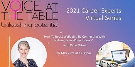 Career Experts: How To Boost Wellbeing By Connecting With Nature tickets