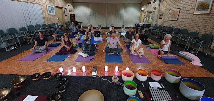 Sound Healing & Guided Meditation - Tibetan & Crystal Singing Bowls & Gongs image
