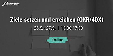 Ziele setzen und erreichen (OKR/4DX) Tickets