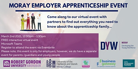 Moray Employer Apprenticeship Event tickets