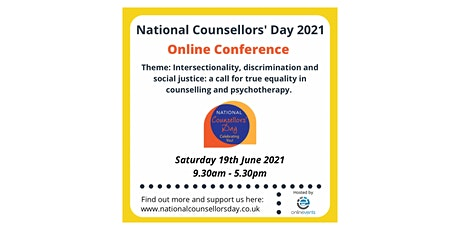 National Counsellors' Day Conference 2021 tickets
