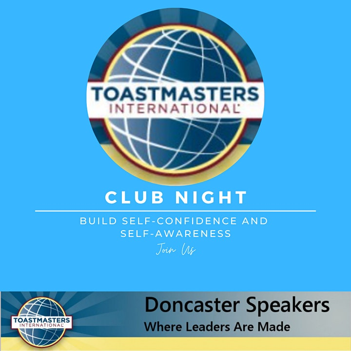 Doncaster Speakers Club Night image