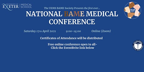 National BAME Medical Conference tickets