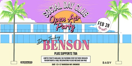 Social Day Club Ft. Benson tickets