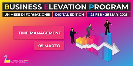 Time Management | BEP Web Edition biglietti