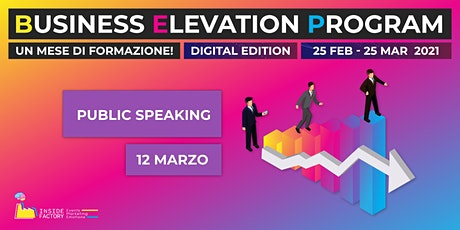 Public Speaking | BEP Web Edition biglietti