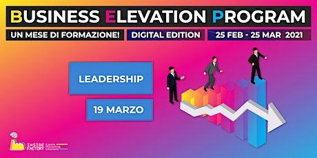Leadership | BEP Web Edition biglietti