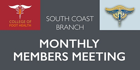 South Coast Branch Meeting IOCP & COFH - February 2021 tickets