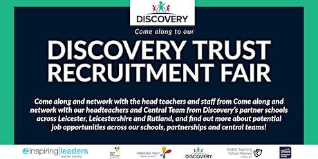 Discovery Trust Virtual Recruitment Fair tickets