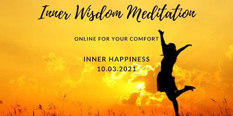 Inner Wisdom Meditation Online - Inner Happiness tickets