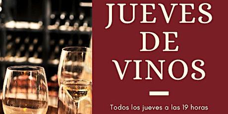 Jueves de Vinos - Catas presenciales entradas
