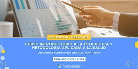 Curso introductorio a la estadística y metodología aplicada a la salud 2021 entradas