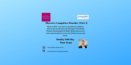 ASD/ADHD Workshop - OCD Live presentation with Dr Stobie tickets
